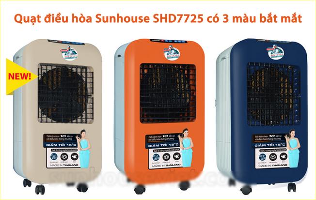 Quạt điều hòa sunhouse SHD7725 có giá dưới 5 triệu